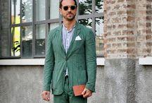 Costume Homme - Vert