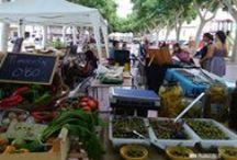 Mercat de la Vila - Terra de Pego / Mercado de productores locales cada 2º y 4º sábado por las mañanas en el paseo Cervantes de Pego.