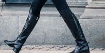 How I Wear My Boots / Ideas for knee high, over the knee and ankle boots. I need inspiration!