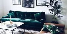 Living Room Inspiration | Interiors Inspiration / living room, lounge ideas, living room ideas, dining room ideas, living room inspiration, mid century modern furniture, interior style, house ideas,