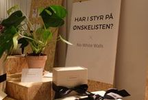 No White Walls @ Bryllupsmesse - Den Store Dag / En dejlig weekend - tak @denstoredag