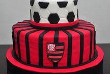 Bolos Times de Futebol / Inspiração em diversos artistas e ateliers de cake design do Brasil e do mundo.