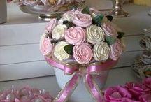 Buquet de Cupcakes / Inspiração em diversos artistas e ateliers de cake design do Brasil e do mundo.