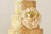 Bolos Bodas de Ouro / Inspiração em diversos artistas e ateliers de cake design do Brasil e do mundo.