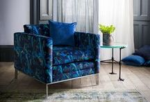 Matthew Williamson collection / The new Matthew Williamson for Duresta range, exclusive to Cookes Furniture, draws heavily on the English Bohemian tradition, reinterpreting classic and contemporary furniture styles and combining them with bold, nature-inspired prints. The addition of a colourful accent sofa from this range to a room is the perfect way to introduce bohemian chic without the need for any drastic redecoration.