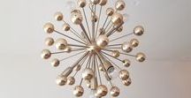 Sputnik Chandelier | Sputnik Lights / sputnik shaped light, sputnik light, sputnik mid century light, mid century light, star burst light, hanging light, multiple bulb light, brass light, gold light, hanging ceiling light, lighting, inspiration, bold, unusual, quirky