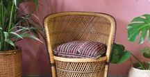 Wicker Furniture | Interiors / wicker chair, wicker table, wicker stool, wicker lamp, wicker basket, bamboo furniture, bamboo chair, wicker style, wood, bohemian,