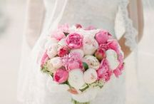 Wedding bouquets and boutonnieres / If I had a flower for every thought of you, I could walk in my garden forever!
