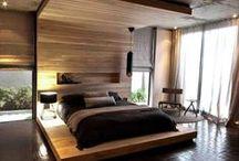 Hálószoba / Bedroom / Hálószoba és gardrob, szintén a Zobal profilrendszerével kivitelezve.