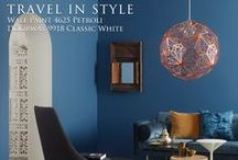 Travel in Style / Explore the richness of colours and let their warm elegance embrace and surround you with our 'Travel In Style' collection from Colour Trends 2014.