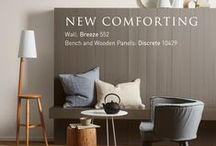New Comforting / Rediscover the peace and quiet stillness that lingers in the poetry of a modern, neutral palette with our New Comforting collection from Colour Trends 2014.