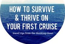 Tips for First Time Cruisers / What to bring - What NOT to bring - What to watch out for - What NOT to miss - How to choose a cruise vacation and much  more!