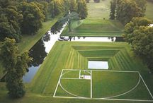 Public space & gardens | landscape architecture / Landscapsarchitectuur | landscape architecture | public space | gardens / by Kees van der Velden