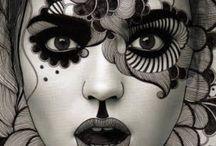 Make-up / Voorbeelden en inspiratie