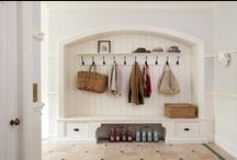 Mudrooms / well-organized and stylish mudrooms