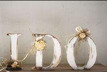 W E D D I N G / Idée déco, robe, bague pour le mariage