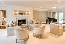 Living Rooms / Karp Associates living rooms, from cozy to luxurious.