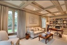 Home Office / Stylish and private home offices by Karp Associates.
