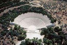 Ancient theatre in Greece / Ancient theatre in Greece - Αρχαία θέατρα στην Ελλάδα