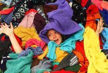 Worek 1: Ubrania, zabawki, bajki / Wszystko to co można razem spakować do 1 worka: ubrania, akcesoria np. paski, torebki, buty, zabawki (bez pluszaków), książki z kodem kreskowym :)