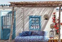 S A L O N - D E - J A R D I N / Salon de jardin pour l'été, décoration extérieure