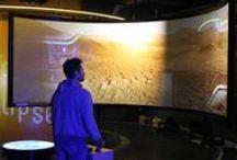 mhauss Unity Planets / Visite temps réel des planètes telluriques  pour l'exposition permanente du  Planétarium de Vaulx en Velin   En route pour les planètes!   réalisation mhauss avec Rémy Maetz  pour Anamnesia