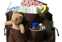 Diaper Bag Must-Haves / Traveling with baby?  Keep your hands clean on-the-go with Baby Bum Brush. What other baby must-haves do you keep in your diaper bag?
