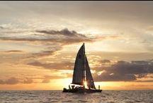 Sunsets / We think Maui has the best sunsets, come see for yourself! Sunset photos taken from around Maui and on our Lahaina champagne sunset sail.