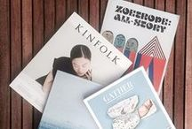 M A G A Z I N E S / covers + contents; magazines that make us happy to open the mailbox or discover at our local magazine shop