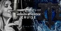 ☆ Melissa Etheridge & Friends Cruise ☆ / Our host, Grammy Award Winning artist Melissa Etheridge, invites YOU to join her on a 7-day concert cruise March 12 - 19, 2018 on Royal Caribbean's Serenade of the Seas. The 2016 cruise was a HUGE hit and this one is already partially sold out! ***** Included: Concerts, Q&A sessions, dancing, meals, lodging, entertainment  + more! Enjoy shore excursions in port. Cruising is the only way to travel on your vacation!  ***** Make your reservation today at http://www.MelissaEtheridgeCruise.com