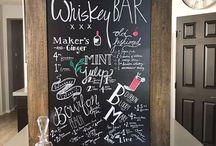Chalkboard Art & Inspo / Diy, fonts, calligraphy, menus, chalkboard, chalk pens, & chalkboard art