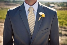 WEDDINGS: Shades of Yellow...Inspiration board. / Think yellow for your Reeds Wedding. We love, love, love yellow and gray for spring weddings at The Reeds. What a cheerful, bright way to accent your special day. Don't be afraid of color, yellow goes so beautifully with the natural look and feel of the ballroom at The Reeds.  Here are some of our favorite wedding design ideas using yellow tones!