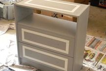 IKEA Rast dresser hacks / I am determined to turn that $30 unfinished dresser into a gorgeous nightstand!