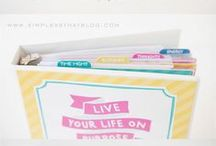 Printables and Binders / Printables and binders to help around the house. / by Andrea Ollendick