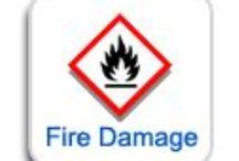 Fire Damage Restoration & Repair Services / All activities related to fire damage.