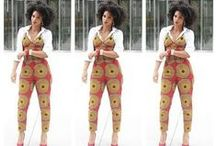 African Footprint / The heart of our fashion..colour!