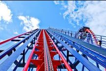 Take a ride / Are you brave enough to ride a scary roller coaster or do you prefer to jump on a relaxing ferris wheel?
