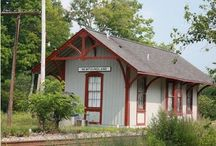 Depot Love / Always loved the architecture of old railroad depots  / by Stacey Huber
