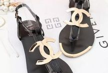 High and low ....Sandals