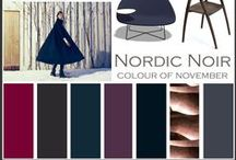 Nordic Noir / Scandinavina style dark colors