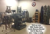 OKC Military Surplus Outlet Store / Visit our surplus store in OKC.  920 N May Ave   10-5:30 7 days a week