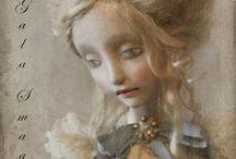 Gala & Lena Smaga / art dolls