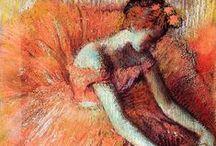 Degas and pastel masters / Pastel art masters.
