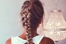 Плетение кос, интересные стрижки, прически