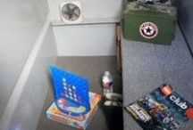 Storm Shelter Practical Comfort / Sending the family into a buried muddy spider box is safe, but with a few practical items it can be safe AND comfortable.  Of course your documents, family photos, etc. are things you will bring with you, here are some items you might not have thought of that will make your stay less stressful!