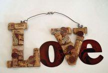 Kids crafts - corks