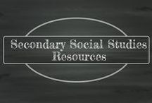 """Secondary Social Studies / Secondary Social Studies ideas, tips, lessons, etc. for teachers to use with their students in the classroom. These can include lesson plans, writing or reading activities, games, printables, or any other activity a secondary social studies teacher would benefit from. Please use appropriate pinning etiquette. Do not """"spam"""" the board."""