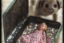 Vintage Fairy Tales by Rebecka Ryberg Skott / BECKYBUS.SE - DOLL ART