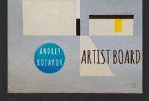 Andrey Kozakov / Andrey Kozakov ▪  Paintings + sculptures + other visual artist's work that inspires him