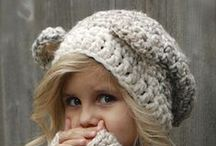 Crochet clothes, scarfs, gloves, hats and mermaid tails